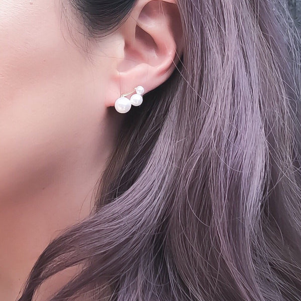 Joy Pearl Earrings - RESTOCKED! - The Songbird Collection