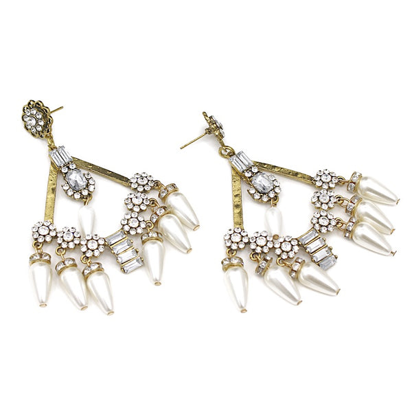 Prerna Boho Statement Earrings - The Songbird Collection