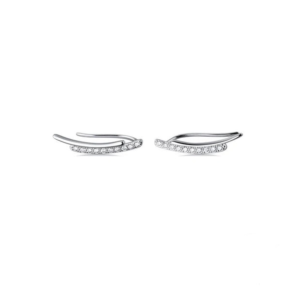 Amelie Ear Pins - 925 Sterling Silver!