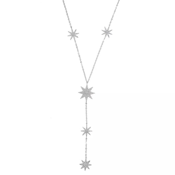 Eternal Stars Lariat Necklace