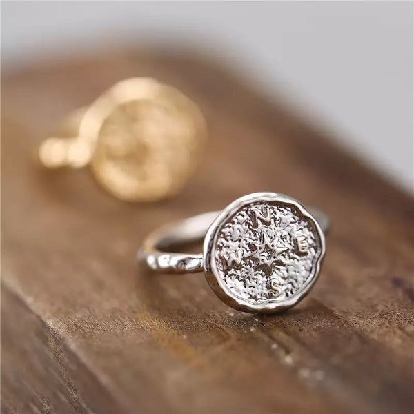 Wanderlust Compass Ring - RESTOCKED!!! - The Songbird Collection