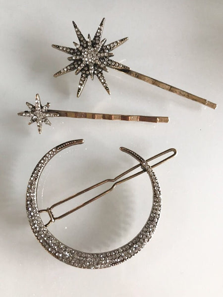 Stargazer Hair Pin Set - LOW STOCK! - The Songbird Collection