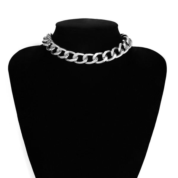 La Cubana Chunky Chain Necklace - The Songbird Collection
