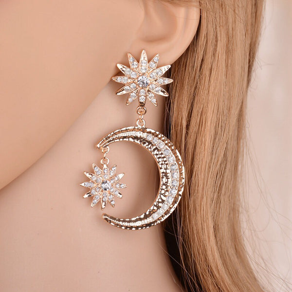 Heavenly Celestial Earrings - The Songbird Collection