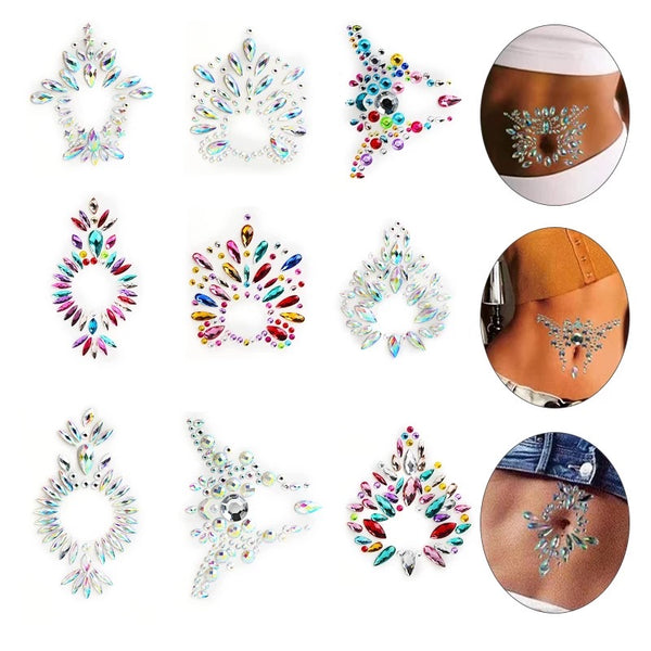 Belly Button / Body Gems - 12 Choices! - The Songbird Collection