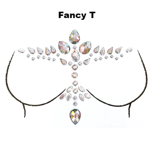 Sparkle Body Gems - 2 Designs! - The Songbird Collection