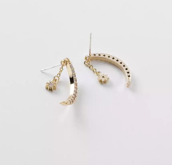 Lunera Point Earrings - LOW STOCK! - The Songbird Collection
