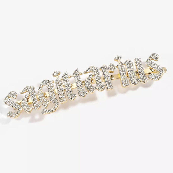 Zodiac Signs + Drippin Glam Savage Hotgirl Rhinestone Hair Pins -YAY!! RESTOCKED!!!!! - The Songbird Collection