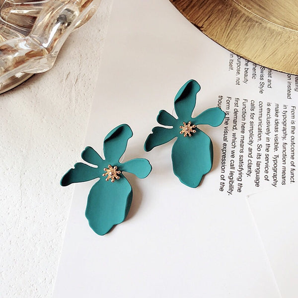 Miami Flower Earrings - 11 Colors - LOW STOCK! - The Songbird Collection