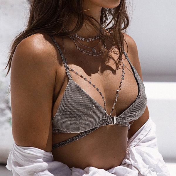 Jezebel Body + Bra Chain - Almost SOLD OUT - The Songbird Collection