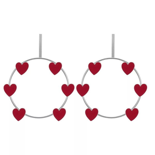 SaRang Heart ❤️ Hoop Earrings - LOW STOCK! - The Songbird Collection