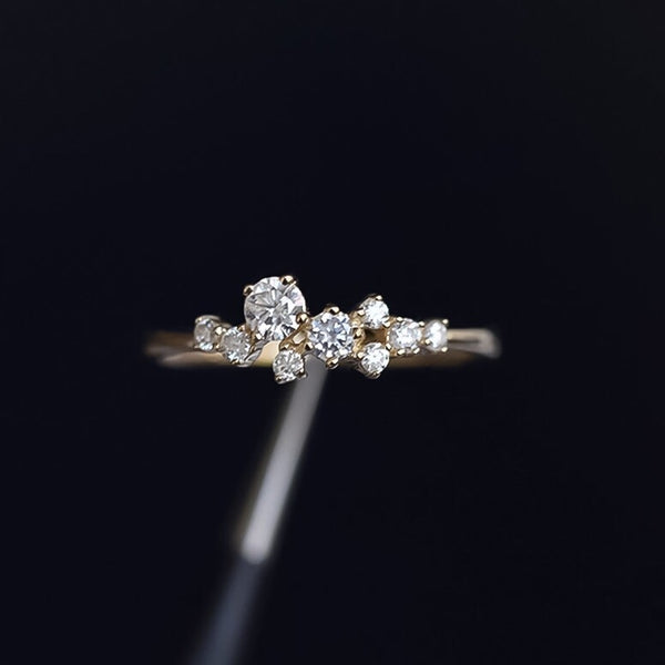 Cassiopeia Ring - BEST SELLER!! All Sizes IN STOCK!! - The Songbird Collection