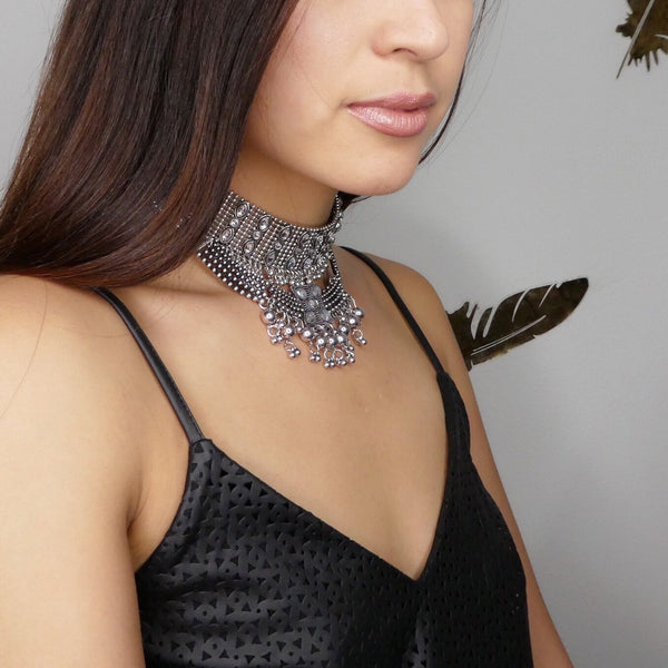Chakra Metal Choker - The Songbird Collection