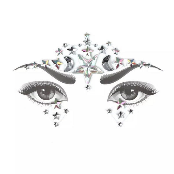 Moon & Stars Face Gems - Hooray! RESTOCKED! - The Songbird Collection