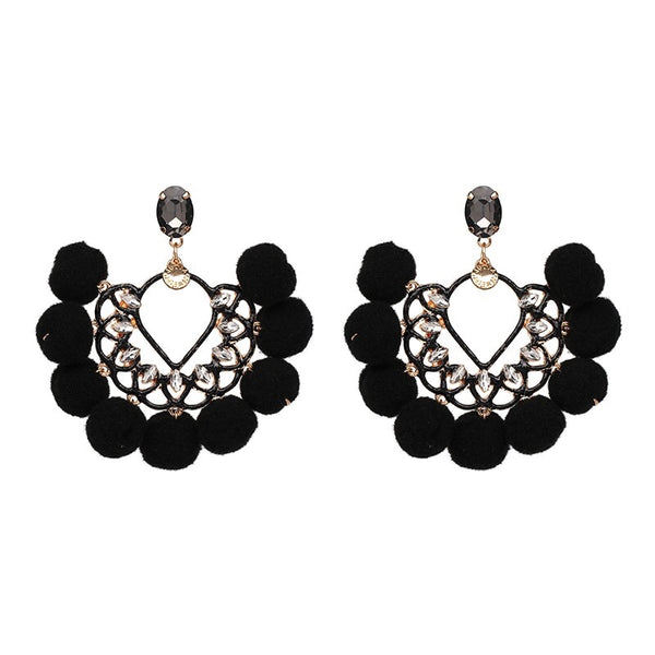 Samba Statement Earrings - 6 Colors! - The Songbird Collection