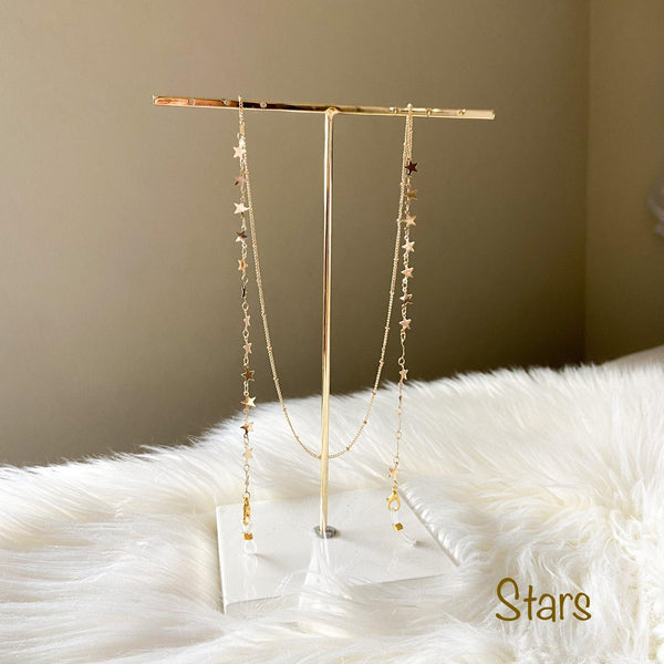 Moons and Stars Mask / Glasses Lanyard Chains - 4 Styles!