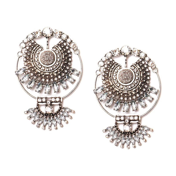Ravi Boho Statement Earrings - The Songbird Collection