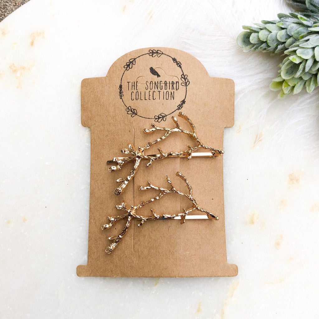 Arbors Hair Pin Set (Set of 2) - RESTOCKED! - The Songbird Collection