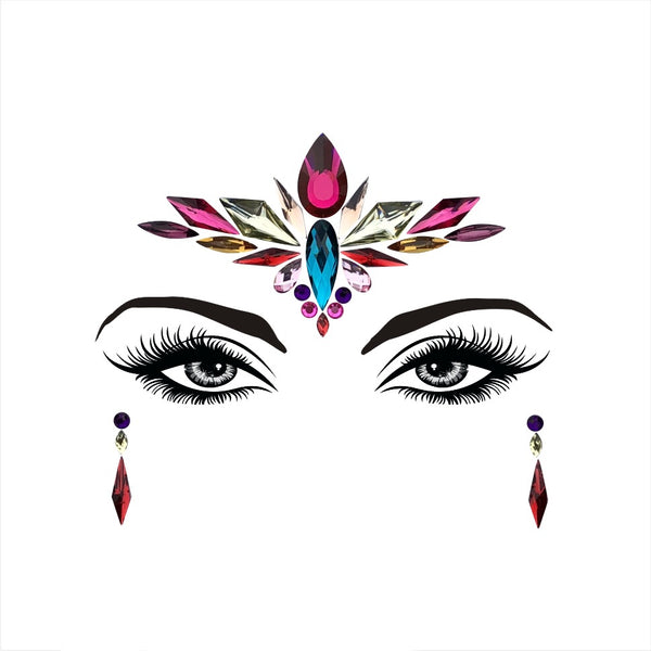 Amidala Face Gems - 2019 March NEW ARRIVAL!! 7 Colors! - The Songbird Collection