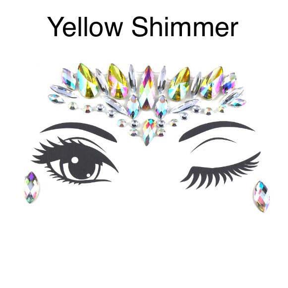 Shimmer and Shine Face Jewels - 8 COLORS Low Stock! - The Songbird Collection