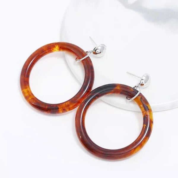 Laguna Acetate Earrings - 3 Colors RESTOCKED!! - The Songbird Collection