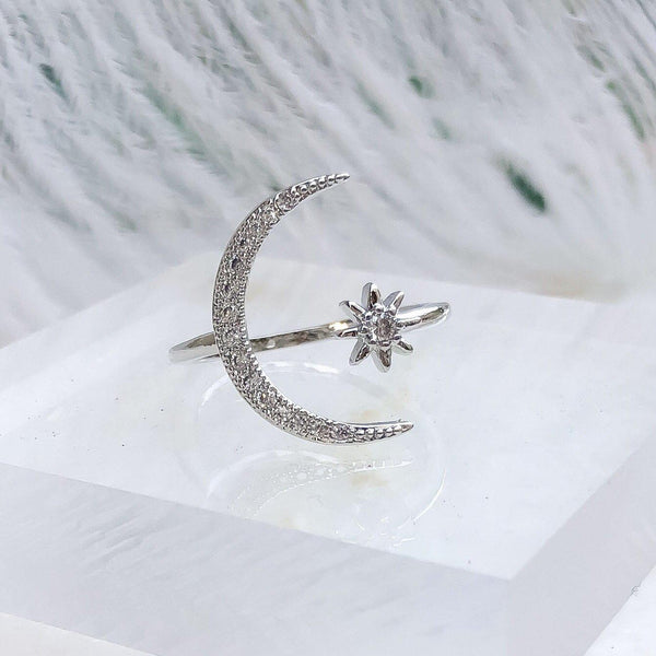 Luna Ring - Astro Muse Collection - The Songbird Collection