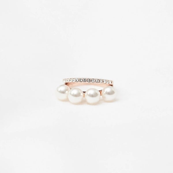 Perla Double Layered Ring - Hooray! RESTOCKED!! - The Songbird Collection