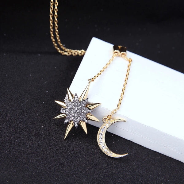 Moonlight & Starlight Lariat Necklace  - LAST CHANCE! - The Songbird Collection