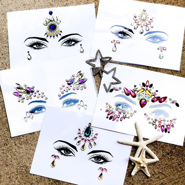 Candy Face Gems - 8 NEW Designs for 2019! - The Songbird Collection
