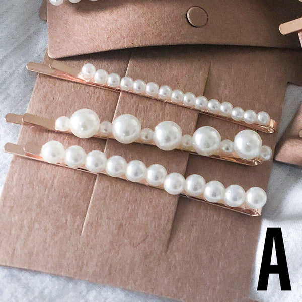 Pearl Hair Pin Set - 7 Sets to Choose From! - The Songbird Collection