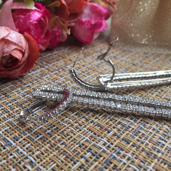 Koko Rhinestone Statement Earrings - The Songbird Collection
