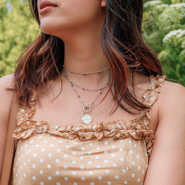 Caterina Layered Necklace - RESTOCKED! - The Songbird Collection