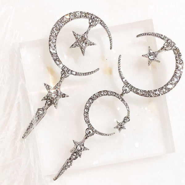 Starry Dreams Asymmetry Earrings - The Songbird Collection