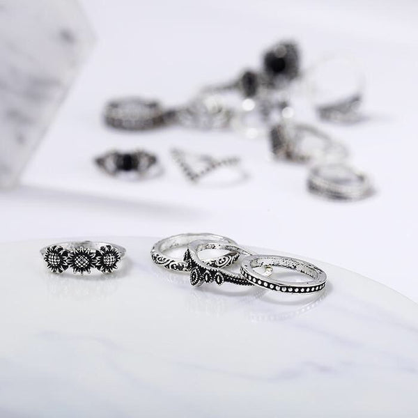 Malefi 15 Piece Ring Set - 3 LEFT! - The Songbird Collection