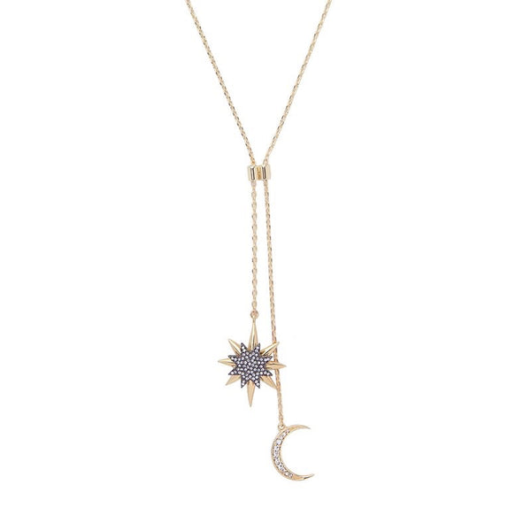 Moonlight & Starlight Lariat Necklace - Yay! Back in Stock! - The Songbird Collection