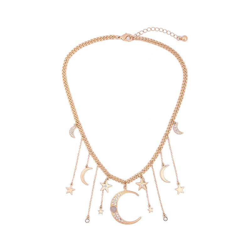 Moonstruck Statement Necklace -RESTOCKED! - The Songbird Collection