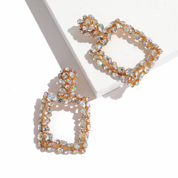 Crystal Brilliance Statement Earrings - 3 Colors! LAST CHANCE!! - The Songbird Collection