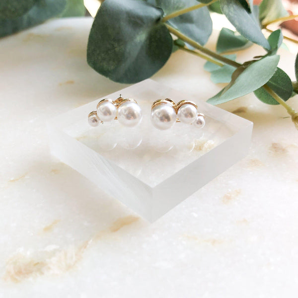 Joy Pearl Earrings - The Songbird Collection