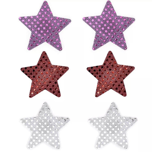 Peekaboo Rockstar Pasties - 7 Sets LOW STOCK! - The Songbird Collection