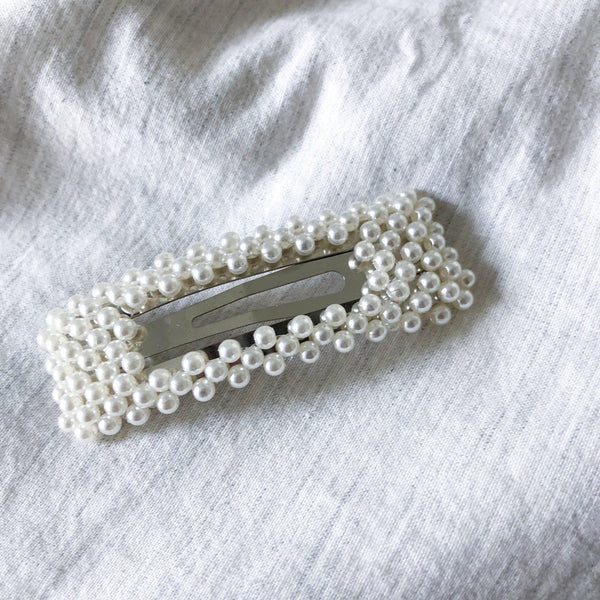 Pearl Snap Barrette Duo - Last Chance! - The Songbird Collection
