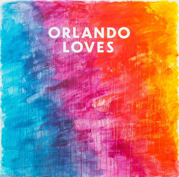 "PRESALE: Orlando Loves / Zebra Co Poster 18""x24"""
