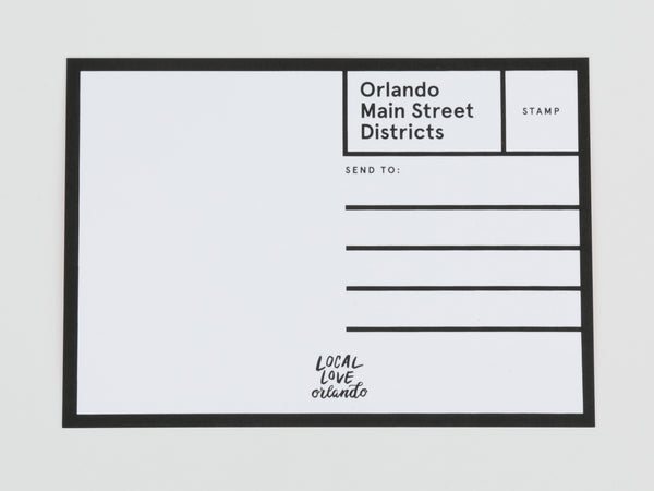 Orlando Postcard Pack: Main Street Districts