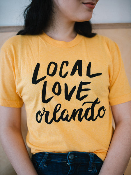Local Love Orlando logo t-shirt