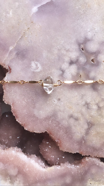 Dainty Diamond Anklet Gold Or Silver