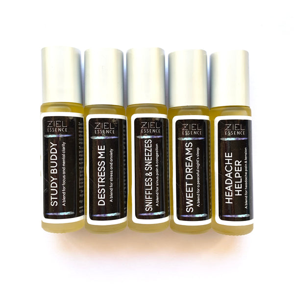 AROMATHERAPY PULSE POINT ROLL-ONS