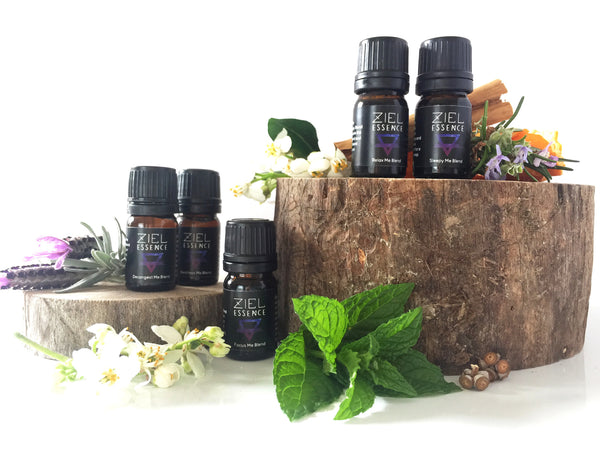 WELLBEING AROMATHERAPY BLENDS