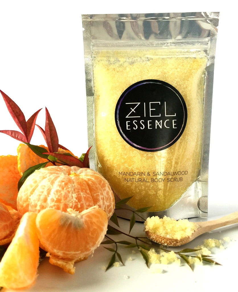 Mandarin & Sandalwood Body Scrub