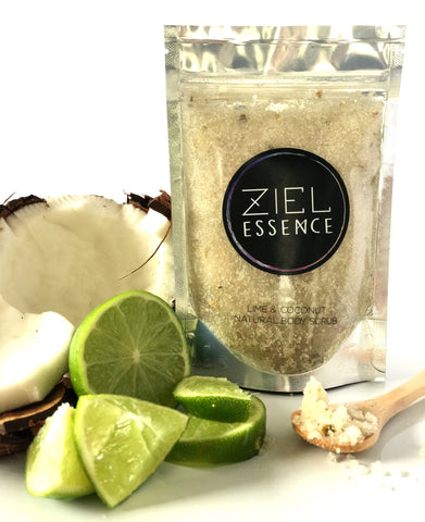 Lime & Coconut Body Scrub