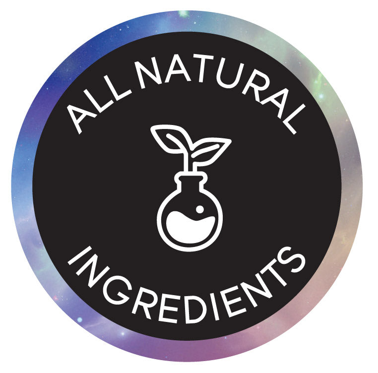100% ALL NATURAL INGREDIENTS