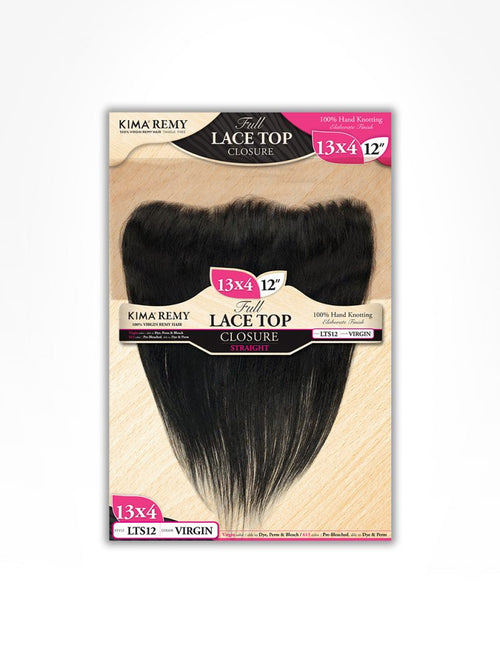 13X4 LACE TOP CLOSURE – STRAIGHT (LTS) - STARCURLS.COM
